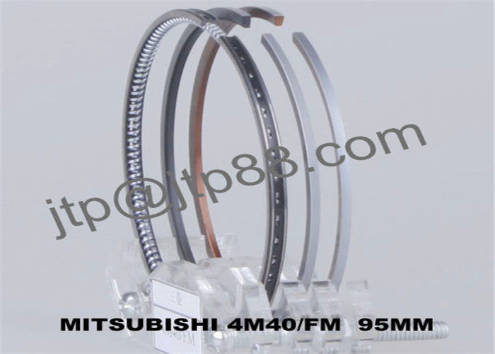 4M40 Automobile Engine Parts Piston Ring Compressor Set ME201522 With 4 Cylinder